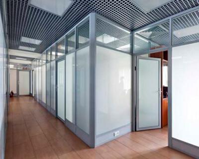 Каркасные перегородки для офисного пространства