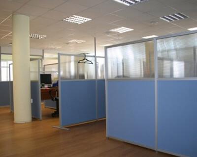 Мобильные перегородки для офисного пространства