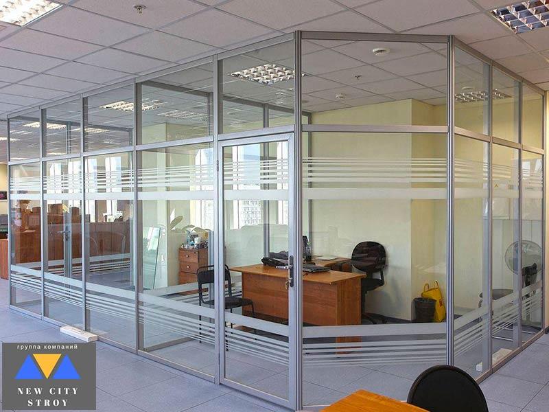Алюминиевые конструкции для офисов