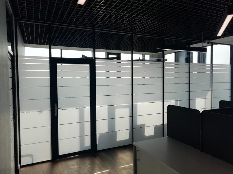 Алюминиевые офисные конструкции