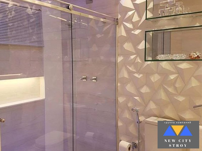 Душевые перегородки из стекла для частного дома